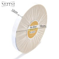 Wholesale New Arrival Neitsi NO Shine Hair Extension Tape White Tape in Skin Weft inch Yards Hair Systerm Tape