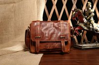 Wholesale Famous brand genuine leather bag men bag men messenger bags design crossbody bags fashion brand for man cowhide leather