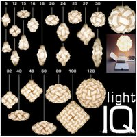 Wholesale 2016 iq puzzle lamp wedding light christmas light medium size diameter mm color for choice prompt delivery