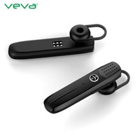 Wholesale VEVA E7 Bluetooth Stereo Headset Business Wireless Earhook Headphone Voice Control Earphone for phone for Tablet with Mic