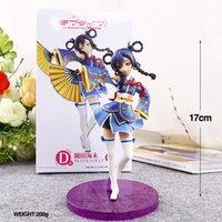 achat en gros de poupée cadeau d'amour-Love Live! Anime Sonoda Umi Film Ver. D Boxed 17cm PVC Figurine Collection Figurine Modèle Doll Toy Gift
