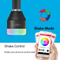 Wholesale MIPOW Bluetooth Smart LED Light Bulbs W E27 Playbulb APP Smartphone Group Controlled Dimmable Color Changing Smart illumination