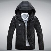Wholesale Fall S XL High end Winter Branding Heavy Keep Warm White Duck Down Jacket Coat Men s Down Jacket Coat Casual