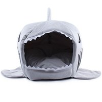 Wholesale 2016 Size Pet Products Warm Soft Dog House Pet Sleeping Bag Shark Dog Kennel Cat Bed Cat House cama perro for Christmas