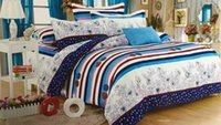 Wholesale bedding set bed linen bedding set family set inclued duvetcover bed sheets pillowcases king queen size