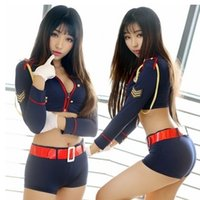 Wholesale Sexy lingerie uniforms maid student airline nightclub skirts pajamas lmmwqqsc