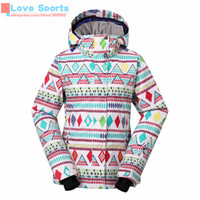 Wholesale Newest High Quality Gsou Snow Lady Ski Cotton Coat Clothing Guaranteed the Original Ski Snowboarding Jacket for Women