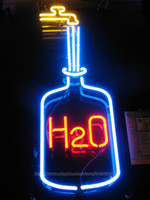 bar water tap - H2O Water Faucet Neon Sign Restaurant Motel Hotel Pub Drink Water tap KTV Custom Handcrafted Real Glass Tube Neon Club Display Sign quot X12 quot