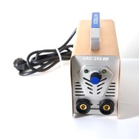 Wholesale hotsaling portable welding machine amp stick mma home use welder easy taking ARC200 with handbag and other accessary