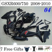 aftermarket gsxr fairings - 7 Gifts Black ABS Plastic Fairing Kits GSXR600 GSXR750 GSXR Aftermarket Bodywork Injection