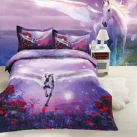 Wholesale Lion King Sheets Full - 3d Bedding Sets Lion Rose Pegasus panther Printed Queen Size 4pcs Print Bed Set Bedclothes Bed Linen Bed Sheet Duvet Cover Set
