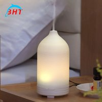 auto oil coolers - Mini Portable Air Humidifier Aroma Purifier Cool Mist Maker Color Changing Led Aromatherapy Essential Oil Diffuser Waterless Auto Shut off