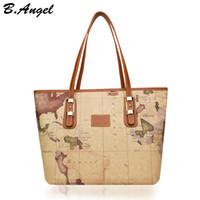 Carte mondiale de haute qualité sac femme sac fourre-tout grand sac sac à main spécial sac à bandoulière marque designer HC-Z-29123