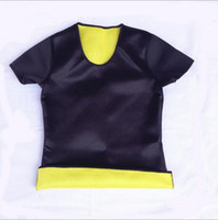 Wholesale Hot Body Shapers T shirt Hot Shapers Stretch Neoprene Slimming Vest Body Shaper Control Vest Tops High Qualit Fashion