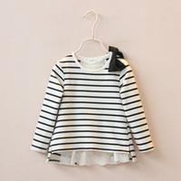 batik blouses - Hug Me Baby Girls Lace Shirts Childrens New Spring Long Sleeve for Kids Clothing New Floral Shirts Lace Floral T Shirts Blouses AA