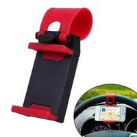Wholesale Car Steering Wheel Mount Holder Rubber Band For Mobile Phone Smart MP4 Phone GPS