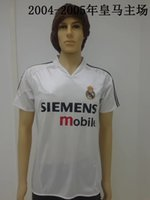 autumn homes - New Real Madrid retro jersey white Real Madrid restoring ancient home shirt Real Madrid ancient classic white T shirt