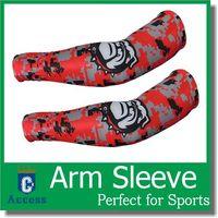 baseball arm bands - Baseball Golf Basketball Sport Shooting Sleeve Stretch Wristband Arm Band Sleeve Sport Sun UV Protection Bicycle Armwarmers color size