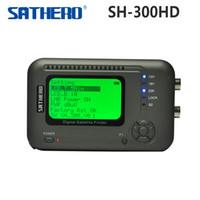 [Original] Sathero SH-300HD USB2.0 DVB-S / S2 HD Analizador de espectro digital satélites del buscador Sathero SH-300 Medidor digital 300HD orden $ 18Nadie trac