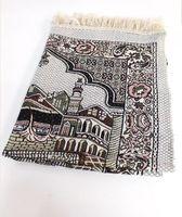 Wholesale Hot Sale New Design Unique MashaAllah Travelling Islamic Muslim Prayer Mat Rug Carpet Salat Musallah cm