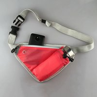 Wholesale New Waist bag Casual Waist Pack Sport Waterproof Running Bicycle Triangular Waist Bag Water Bottle Pocket Bag