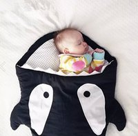 Wholesale Baby clothes baby boy clothes Shark multifunctional new creative baby sleeping bag kick by her is prevention