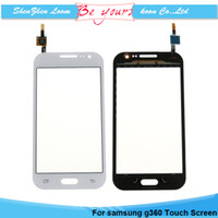 для Samsung Galaxy ядра Prime G3608 G360 с цифрователем Стекло ранга AAA Сенсорная панель экрана Замена Черный Белый Бесплатная Доставка