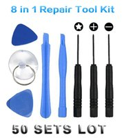 Wholesale 50 SET in Repair Pry Tool Kit Opening Ferramentas Tools Pentalobe Star Screwdriver For iPhone S S C S CellPhone