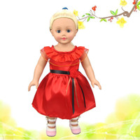 Wholesale Christmas Gifts For Children Girls Doll Accessories Handmade Princess Dress For American Girl Dolls Clothes variety of options YF277