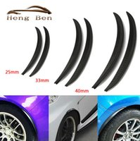 arched eyebrow - HB set Carbon Fibre Style Fender Flares Universal Arch Wheel Eyebrows Protect Ant Scratch