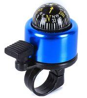 Cheap Aluminium Alloy Outdoor Safety Compass Metal Ring Handlebar Bell Sound for Bike Mini Color Bell Bike Horns