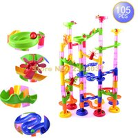 animal tracking system - d Pipe Maze Track Diy Domino Puzzle Ball Construction System Toy Children s