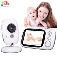Wholesale Infant GHz Wireles Baby Monitor Babysitter Digital Video Baby Camera Audio Night Vision VOX Inch Display Nanny Babymonitor