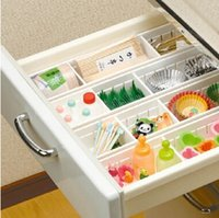 Wholesale Japeness Inported Drawer Storage Box Kitchen PP Made Table Drawer Sorting Box kitchen cleaning organizer