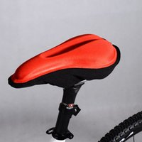 Wholesale Hot Sales Comfort Bike Saddle Cover Bicycle Memory Foam Seat Outdoor Cycling Cushion Pad MN0050 salebags