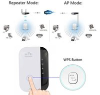 Wholesale Wireless N Wifi Repeater N B G Network Router Range Expander M signal Antennas booster