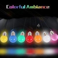Wholesale E27 LED Bulbs W Energy Saving Bulb E27 Led Colorful Home Lighting V Color Led Lights for Home Christmas Decoration Lighting
