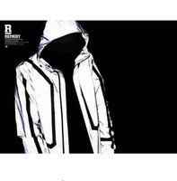 baseballs winter coats - high quality Casual Mens Jackets Hip hop Winter Waterproof m Reflective Jacket Men Clothes Outdoor Baseball Coat Windbreaker