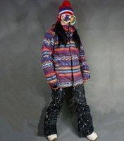 Wholesale Women s Ski Jacket Waterproof Windbreaker Winter Outdoor Thick Cotton Coat for Women Snowboard Jacket for Women