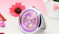 Wholesale Mixed CD Veins Compact Mirror Makeup Mirror Wedding Favor Personalized Engraving Logo