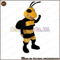Wholesale New hornet mascot costume hot high quality cheap plush Hornet mascot cartoon set adult type we accept customized mascot