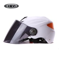 Wholesale 2016 motorcycle helmet TKD motorcycle half helmet Electric car helmet Xia Kui Men and women general helmet Uv Whitesi