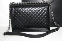 Wholesale Quilted Le Boy Flap Large size Lambskin