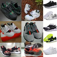Wholesale 2016 Summer High Quality Ultra Air Mesh huarache Mixed Colors Light Sneakers Men Women White Black Red Pink Grey Running Shoes Original Box
