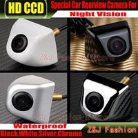 Wholesale Hot Selling CCD HD Rearview Waterproof night vision degree Wide Angle Luxur car rear view camera reversing backup camera