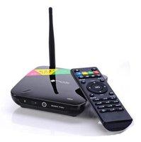 CS968 Quad Core RK3188 Android 4.2 Bluetooth 4.0 XBMC RJ45 TV Caja 2 GB de RAM 8 GB + Control remoto Construir-en la cámara de 2,0 MP MicoPhone
