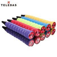 badminton racquet set - Anti Slip Badminton Tennis Racket Grip Racquet Grips Tape Overgrip Colors