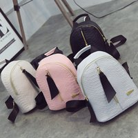 Wholesale Spring summer the new fashion trend in waterproof bags leisure joker pure color backpack