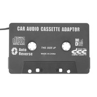 Wholesale 1pcs Compact and portable Car Cassette tape adapter for MP3 Player CD Hot New Arrival