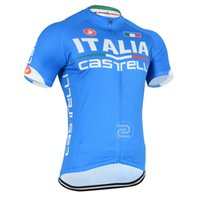 Wholesale Italy Mountain Racing Bike Cycling Clothing Breathable Bicycle Cycling Jerseys Ropa Ciclismo Short Sleeve Cycling Sportswear